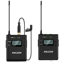 ANLEON P1/P Professional Wireless Lavalier Microphone System for iPhone Android