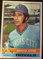 AMOS OTIS 2014 Topps 75th Anniversary Silver Stamped BuyBacks 1976 #510 Royals