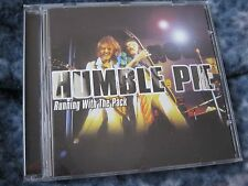 """HUMBLE PIE CD """"RUNNING WITH THE PACK"""" 1999 NMC UK IMPORT"""