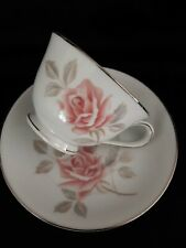 Vintage Noritake ROSE MIST Bone China Tea Set Japan  No 6225