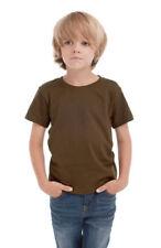 Magliette, maglie e camicie marrone taglia 2 anni per bambini dai 2 ai 16 anni
