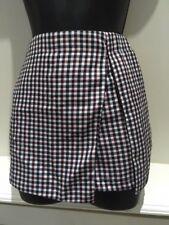 Urmoda Ladies Dogtooth Red Skorts Side/Back Pockets Side Zip Huge Sale £5