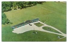 Aerial View of Capri Motel of Distinction, Crivitz, WI Postcard