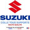 Stickers autocollant Suzuki moto logo plusieurs tailles, super prix