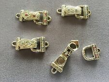FOUR (4) Swarovski Magnetic Clasps-Pastels-Crystal Innovations-Sapphire & Rose