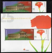 PORTUGAL MNH 1999 SG2706-08 25th Anniversary of the  Revolution
