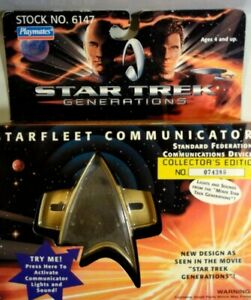 VINTAGE Starfleet Communicator Star Trek Generations Vintage 1994 Playmates NIB