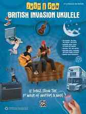 "JUST FOR FUN ""BRITISH INVASION UKULELE""-EASY UKE-TAB MUSIC BOOK BRAND NEW SALE!!"