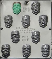 Monster Face Chocolate Candy Mold Halloween  943 NEW