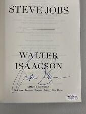 Walter Isaacson Signed Book Steve Jobs Autograph Hardcover Apple Computer JSA