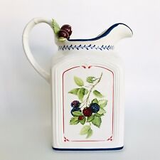 Villeroy & Boch 1748 Cottage Inn Country Collection Large Porcelain Pitcher