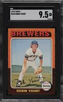 1975 Topps 223 Robin Yount SGC 9.5 MT+, Top 15 Grade Across ALL TPG's