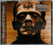 "CD BAR 7 ( ex-tesla) ""THE WORLD IS A FREAK"" , 10 TITRES, D'OCCASION, BON ETAT"