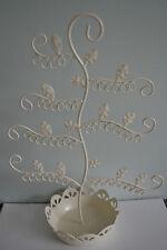 Pendiente joyería Display Stand soporte crema de árbol de gancho
