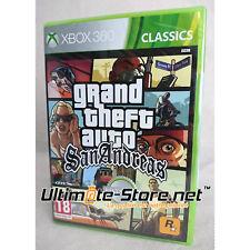 Grand Theft Auto GTA San Andreas - Jeu Microsoft Xbox 360