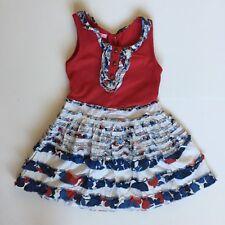 Toddler Girl Beetle Juice London Shirt Sz 3t Sleeveless White Pink New W/tags Girls' Clothing (newborn-5t)