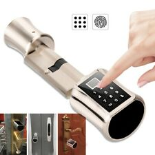 Smart Biometric Fingerprint Door Lock Password Home Security Anti-theft Lock Hot