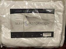 Sleep Restoration Mattress Pad Cover Luxurious Microfiber (KING SIZE)