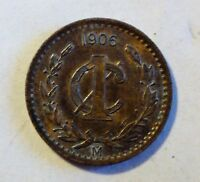 Mexico / Mexiko - 1 Centavo - 1906 M - vz+ / xf+