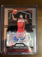 Thomas Bryant 2019-20 Prizm Signatures Autograph Auto Card No. 195 Wizards