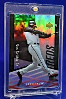 KEN GRIFFEY JR. UD SPECTRUM RAINBOW REFRACTOR REDS LEGEND HOF SP