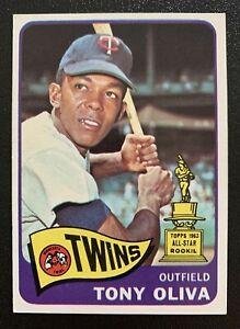 1965 Topps #340 Tony Oliva Minnesota Twins All-star Rookie