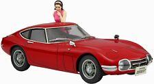 Hasegawa 1967 Toyota 2000GT w/ female figure 1/24 Scale Plastic Model Kit SP366