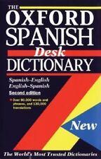 The Oxford Spanish Desk Dictionary: Spanish-English, English-Spanish, , Good Boo
