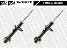 FOR AUDI A1 VW POLO 2009-2014 MONROE FRONT LEFT AND RIGHT GAS SHOCK ABSORBERS