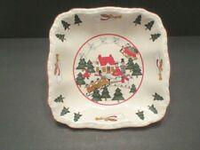 "Mason's Ironstone England Christmas Village 9"" Serving Platter"