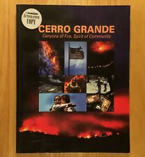 CERRO GRANDE: Canyons of Fire, Spirit of Community  (SIGNED COPY)