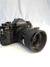 Canon A-1 Camera And Canon 33-70mm Lens