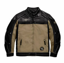 Harley-Davidson Waist Length Cowhide Leather Exact Motorcycle Jackets