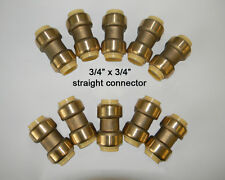 10 piece Sharkbite Style 3/4 inch Push Fit Coupling