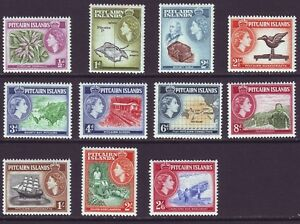 Pitcairn Islands 1957 SC 20-30 MH Set