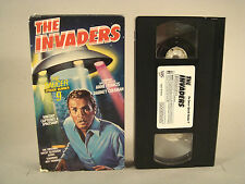 "THE INVADERS episode ""THE SAUCER"" TV science fiction Anne Francis VHS video tape"