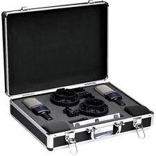 AKG C214 Matched Pair Stereo Large-Diaphragm Studio Recording Microphone Set