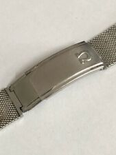 OMEGA Vintage Bracelet 18mm Steel Seamaster Speedmaster 1505/1 Milanese Mesh OEM