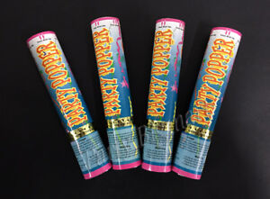 BULK BUY 4x Twist Party Popper Confetti Streamer Party Celebration Decoration-AU