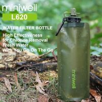 Water Filter Emergency Survival Kit Portable Camping Hiking Outdoor Sports Clean