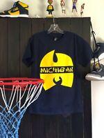 Michigan Wolverines Wu-Tang Clan Shirt Fab Five Nike Dunk High