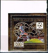 Guinea.1990 World Cup.Soccer.Football.Fussball.Gold.MNH**