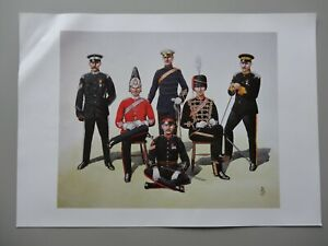 Royal Artillery Print by Alix Baker - 100th Regiment (Yeomanry) Royal Artillery