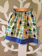Baby Boy Shorts, Handmade With Contrast Bands & Pockets In Size 00