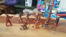 Charbens Wild West Native Indians Toy Soldiers.