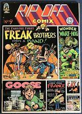 Rip Off Comix #9  Underground Comix  1st Printing  1981  Freak Brothers