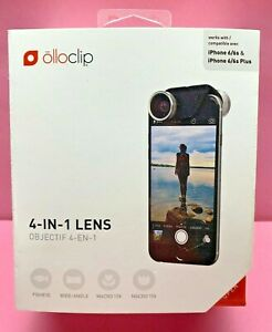 Olloclip 4-IN-1 Front & Rear Lens iPhone 6/6s & 6/6s Plus,Used.