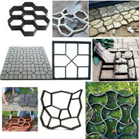 DIY Stepping Stone Mold Concrete Paving Pathway Outdoor Garden Cement Brick Mold