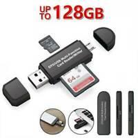 ADAPTATEUR CARTE MEMOIRE MICRO SD SDHC MMC TF TFLASH CARD READER USB 2