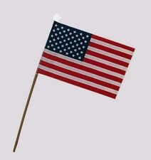 """USE4D Valley Forge Small Stick Flag 4""""x6"""" Polycotton United States US American"""